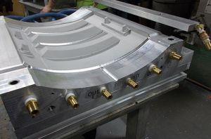 Cast Alum Mold with CNC Loose Piece