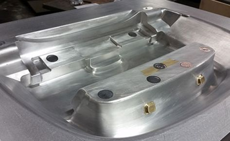 CNC ALUMINUM PRESSURE FORM MOLD – AIRCRAFT PARTS