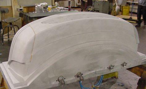 Vacuum Form Mold for Car Front Bumper
