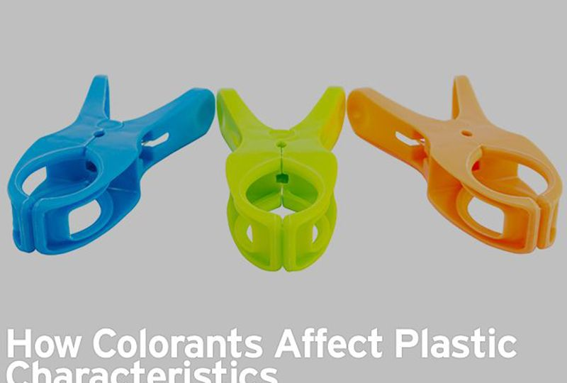 DIFFERENT COLORED CLAMPS