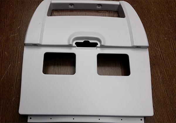 AIRCRAFT SEAT FINAL PLASTIC