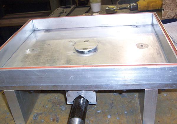 ALUMINUM PRESSURE BOX