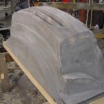VACUUM FORM MOLD FOR AUTOMOBILE FRONT BUMPER